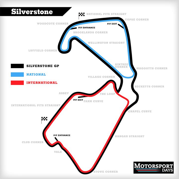 silverstone track guide
