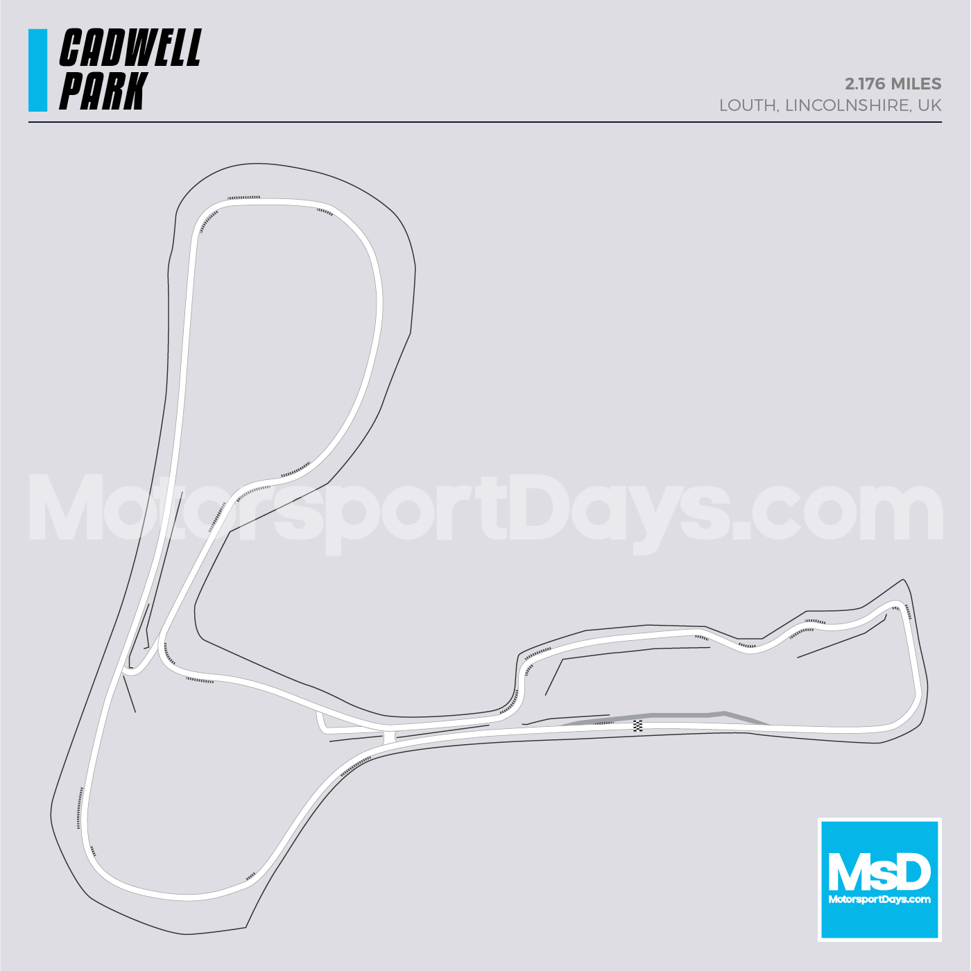 Cadwell-Park-Circuit-track-map