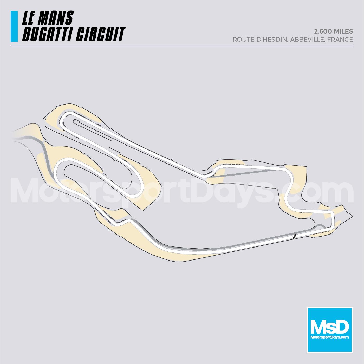 Le Mans Bugatti-Circuit-track-map