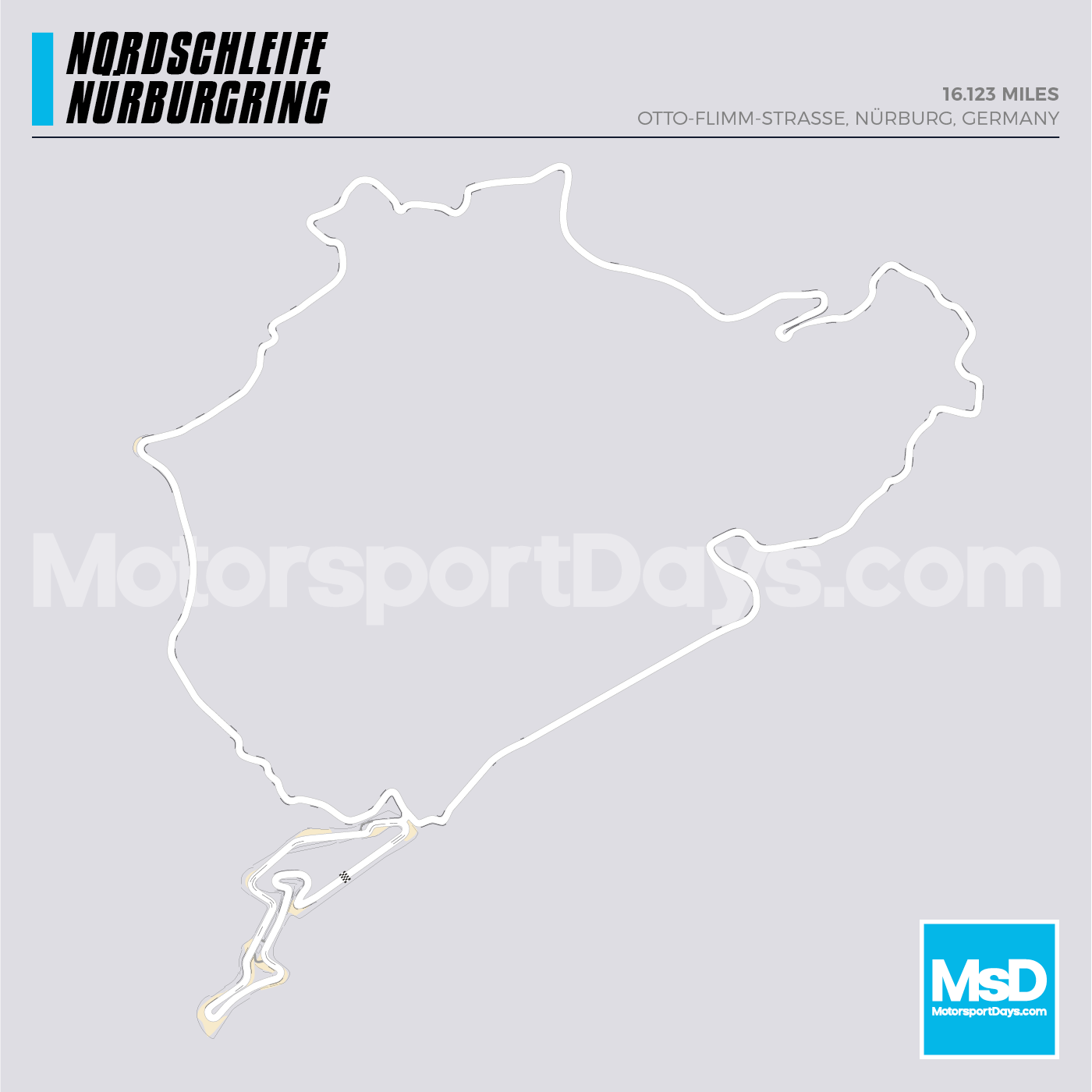 Nordschleife-Circuit-track-map