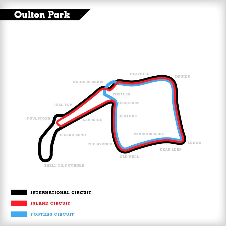 Oulton Park Circuit Track Days Test Days motorsportdays.com