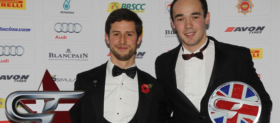 British GT title winners crowned at SRO's Night of the Champions