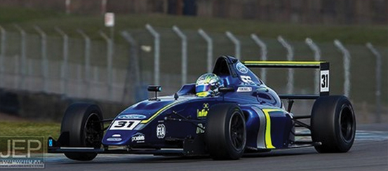 Fewtrell-sported-reigning-champion-Lando-Norris'-winning-number---which-seemed-to-work-wonders!