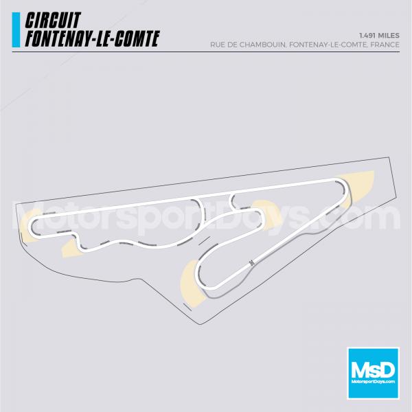 Fontenay-Le-Comte-Circuit-track-map