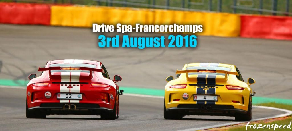 Drive Spa-Francorchamps motorsport track days