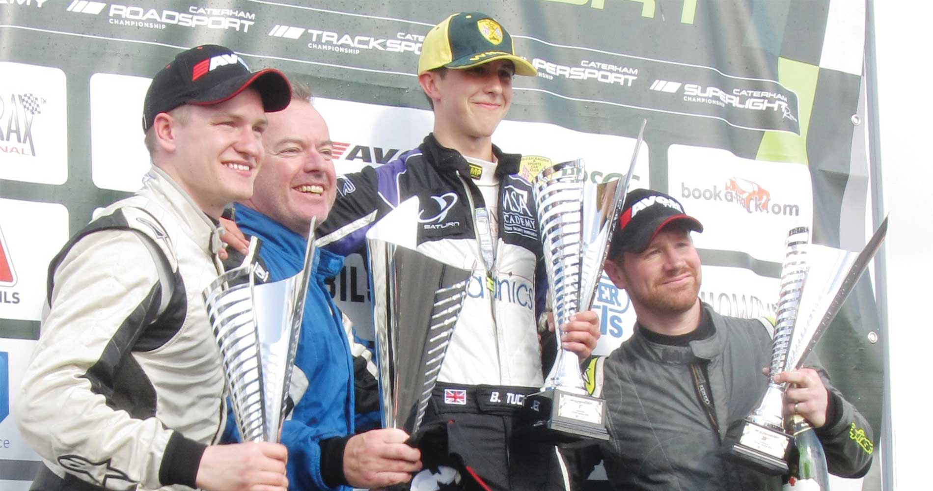 ben-tuck-celebrates-another-win-in-the-2016-caterham-finale-motorsportdays-test-days-2