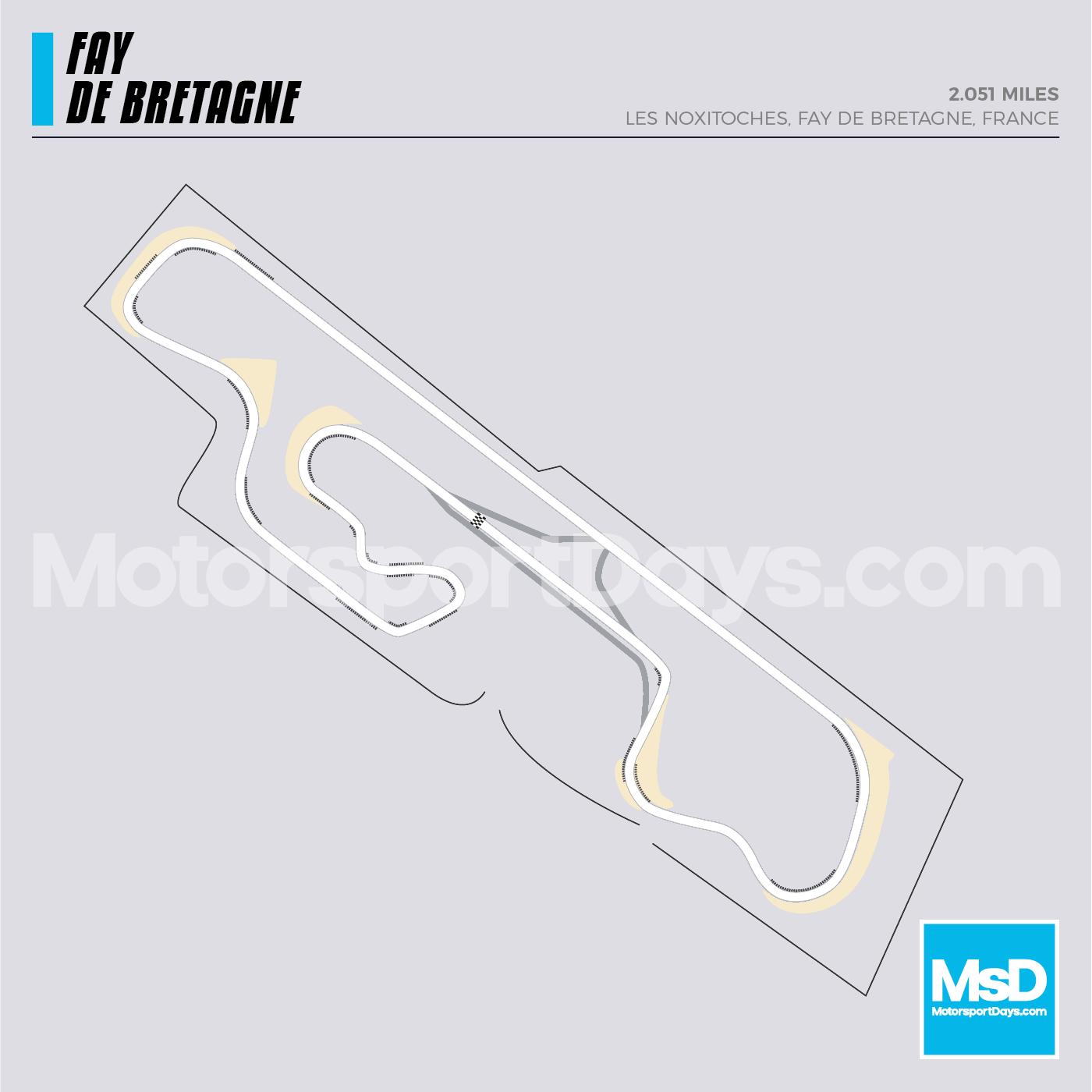 Fay-De-Bretagne-Circuit-track-map