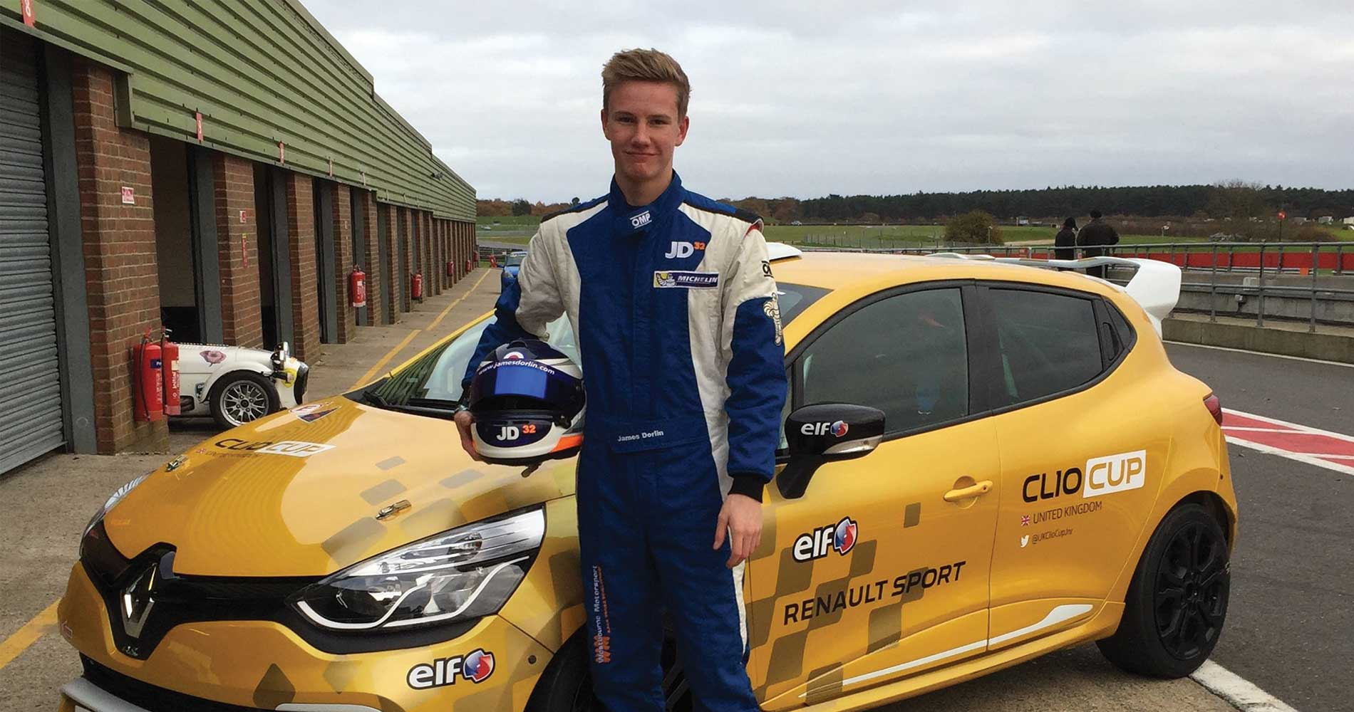 michelin-clio-series-champ-dorlin-closing-on-renault-uk-clio-cup-deal-with-westbourne-after-prize-test-motorsportdays-track-days-1