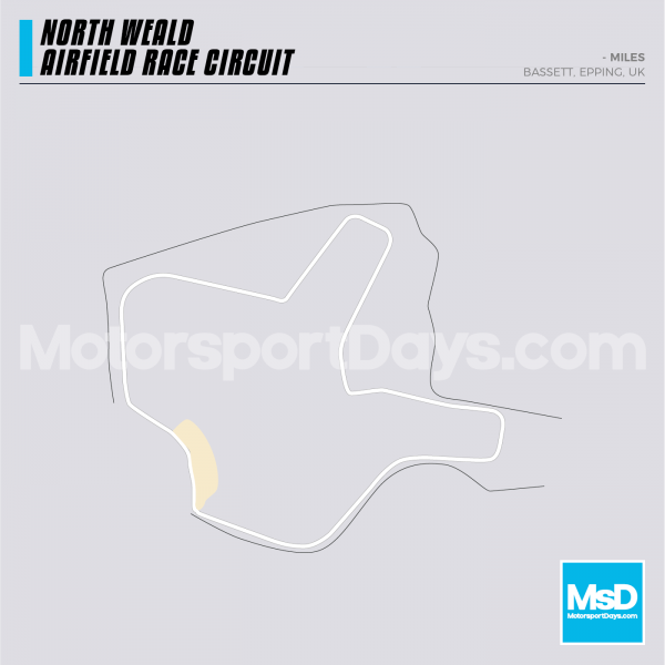 North Weald Airfield-Circuit-track-map