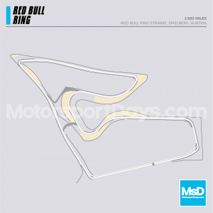 Red Bull Ring Circuit track map
