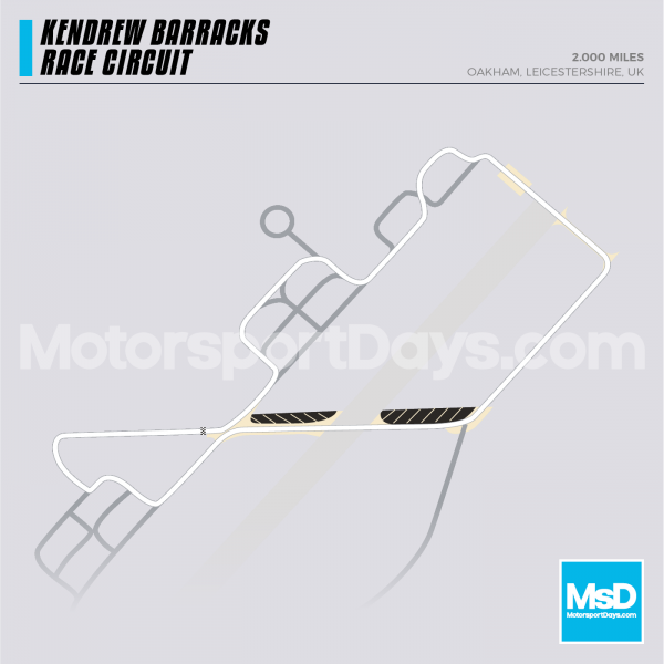 Kendrew Barracks-Circuit-track-map