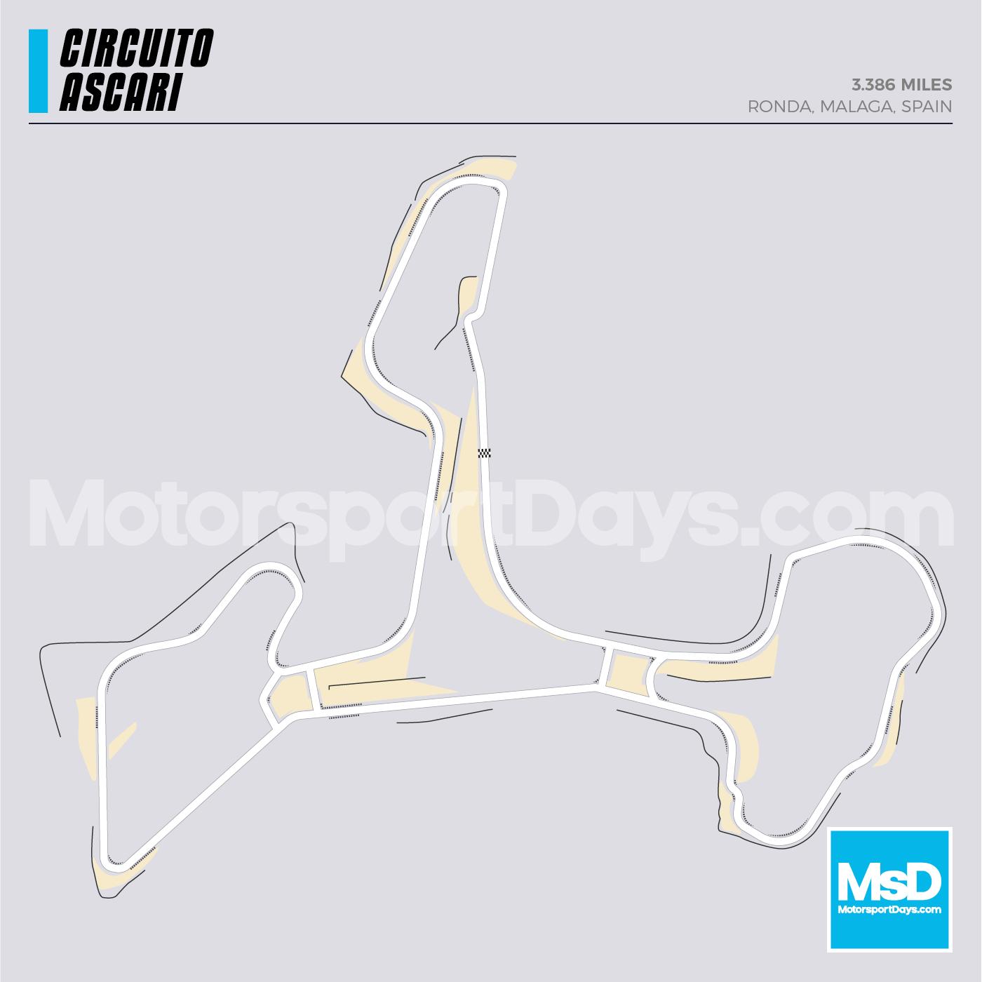 Ascari-Circuit-track-map