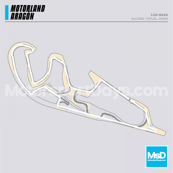Motorland Aragon-Circuit-track-map