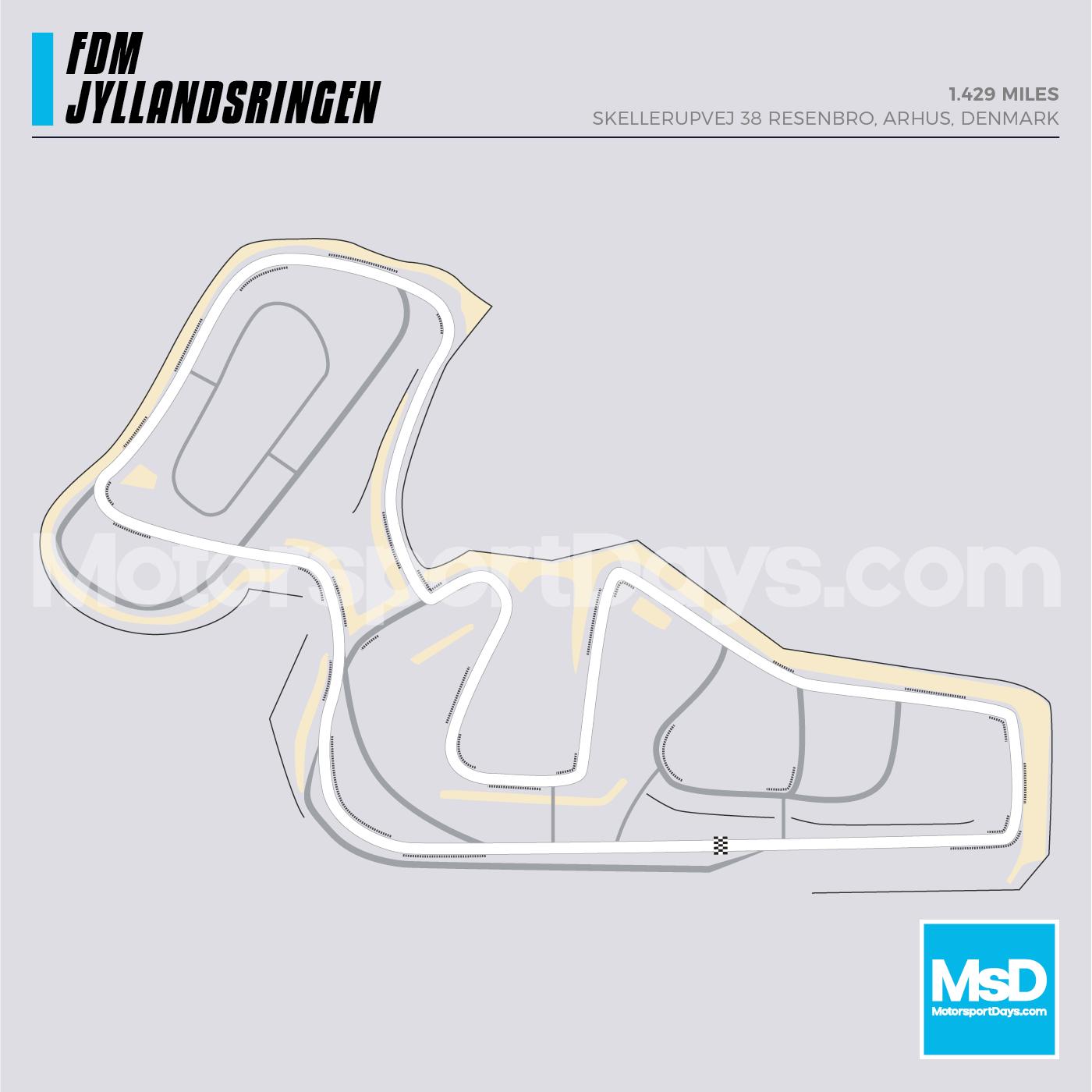FDM-Jyllandsringen-Circuit-track-map
