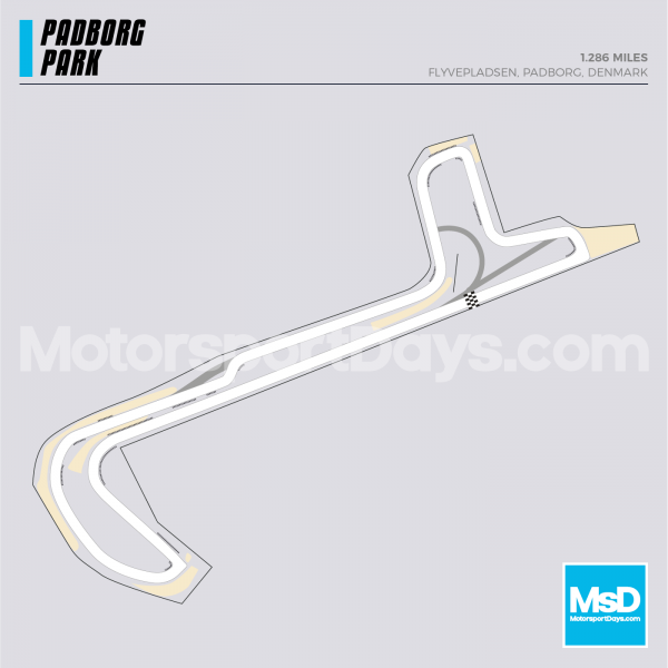 Padborg Park-Circuit-track-map.png